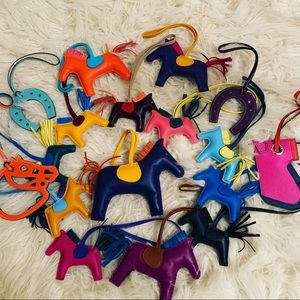 Hermes rodeo and other charms